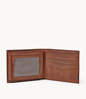 fossil wallet men